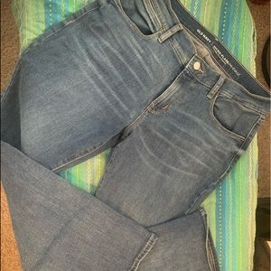Old Navy micro flare jeans 👖8 short!